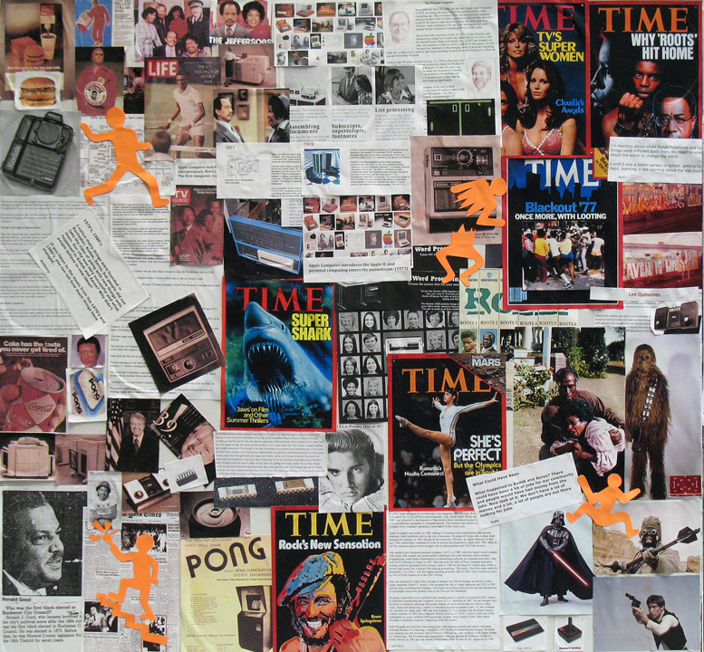 1990s collage timeline 1970 1990 an